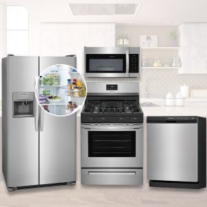 Frigidaire Kitchen Package - Stainless Steel