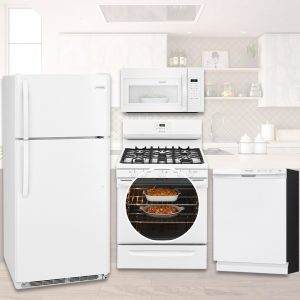 Frigidaire Kitchen Package - White